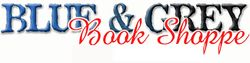 logo: Blue & Grey Book Shoppe