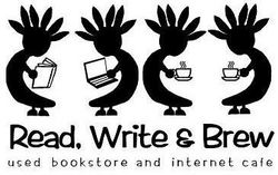logo: Read, Write & Brew