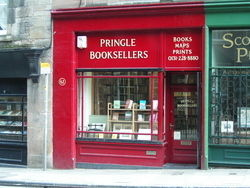 logo: Pringle Booksellers ABA ILAB PBFA