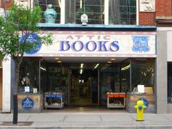 Attic Books store photo