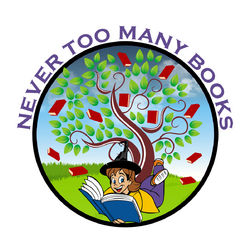 logo: Never Too Many Books