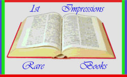 logo: 1st Impressions Rare Books
