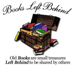 logo: Books Left Behind