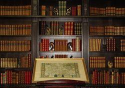 logo: Alcuin Books, ABAA-ILAB