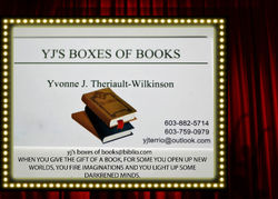 YJS BOXES OF BOOKS store photo