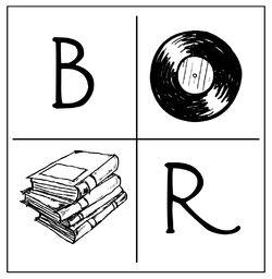 logo: Books + Rec Shoppe