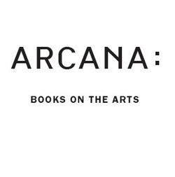 Arcana: Books on the Arts bookstore logo