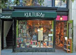logo: KULTURAs  books