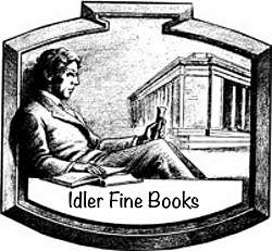Idler Fine Books bookstore logo