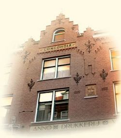 Librarium of The Hague store photo