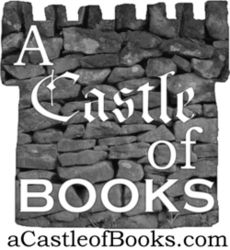 A Castle of Books bookstore logo