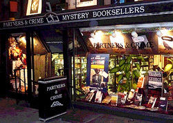 Partners & Crime Mystery Booksellers store photo
