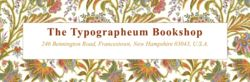 logo: The Typographeum Bookshop