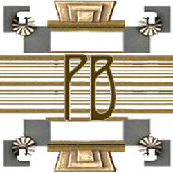 logo: Parigi Books, ABAA/ILAB
