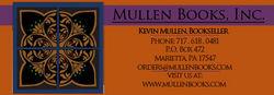 logo: Mullen Books, Inc. ABAA / ILAB
