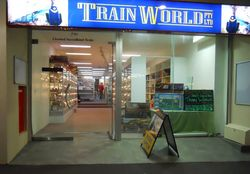 logo: Train World Pty Ltd