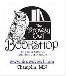 logo: The Drowsy Owl Bookshop