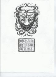 logo: Black Flame Books (PBFA)