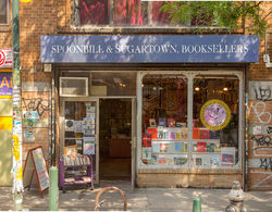 logo: Spoonbill & Sugartown, Booksellers