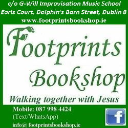 Footprints Bookshop bookstore logo