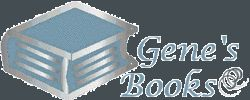 Gene's Books,  IOBA bookstore logo