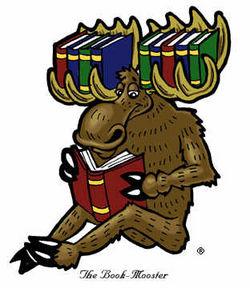 logo: The Book Moose