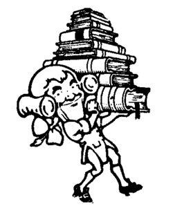 logo: Andrew Langer, Bookseller