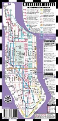 mini metro manhattan bus subway by streetwise maps Streetwise Manhattan Bus Subway Map – Laminated Subway Map of New York City 200x418