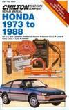 Honda 1973-88 (Part No. 6980) The Chilton Editors
