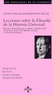 gwf hegel thesis