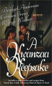 A Kwanzaa Keepsake: Imani\Whisper To Me\Harvest The Fruits (Arabesque) Bridget Anderson, Carmen Green and Margie Walker
