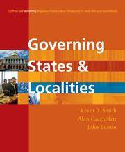 Buy government magazine - Governing States And Localities Cq Press And Governing Magazine Present A New Introduction To State And Local Government