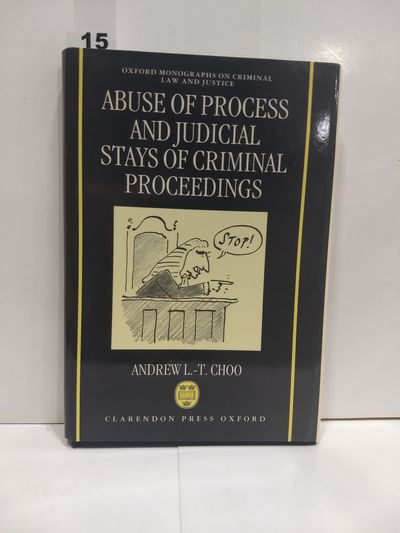 Image for Abuse Of Process And Judicial Stays Of Criminal Proceedings
