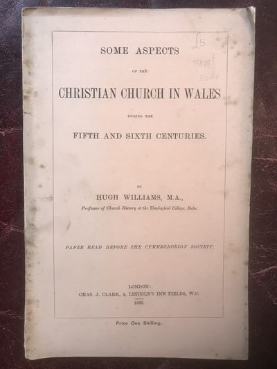 Image for Some Aspects of The Christian Church In Wales During The Fifth And Sixth Centuries Original 1895 Edition