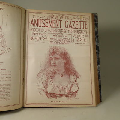 Image for New York Amusement Gazette. Record of Operas Theatres and Other Entertainments.
