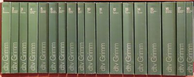 Image for Deutsches Wörterbuch von Jacob und Wilhelm Grimm 18 Volumes: I - XVIII