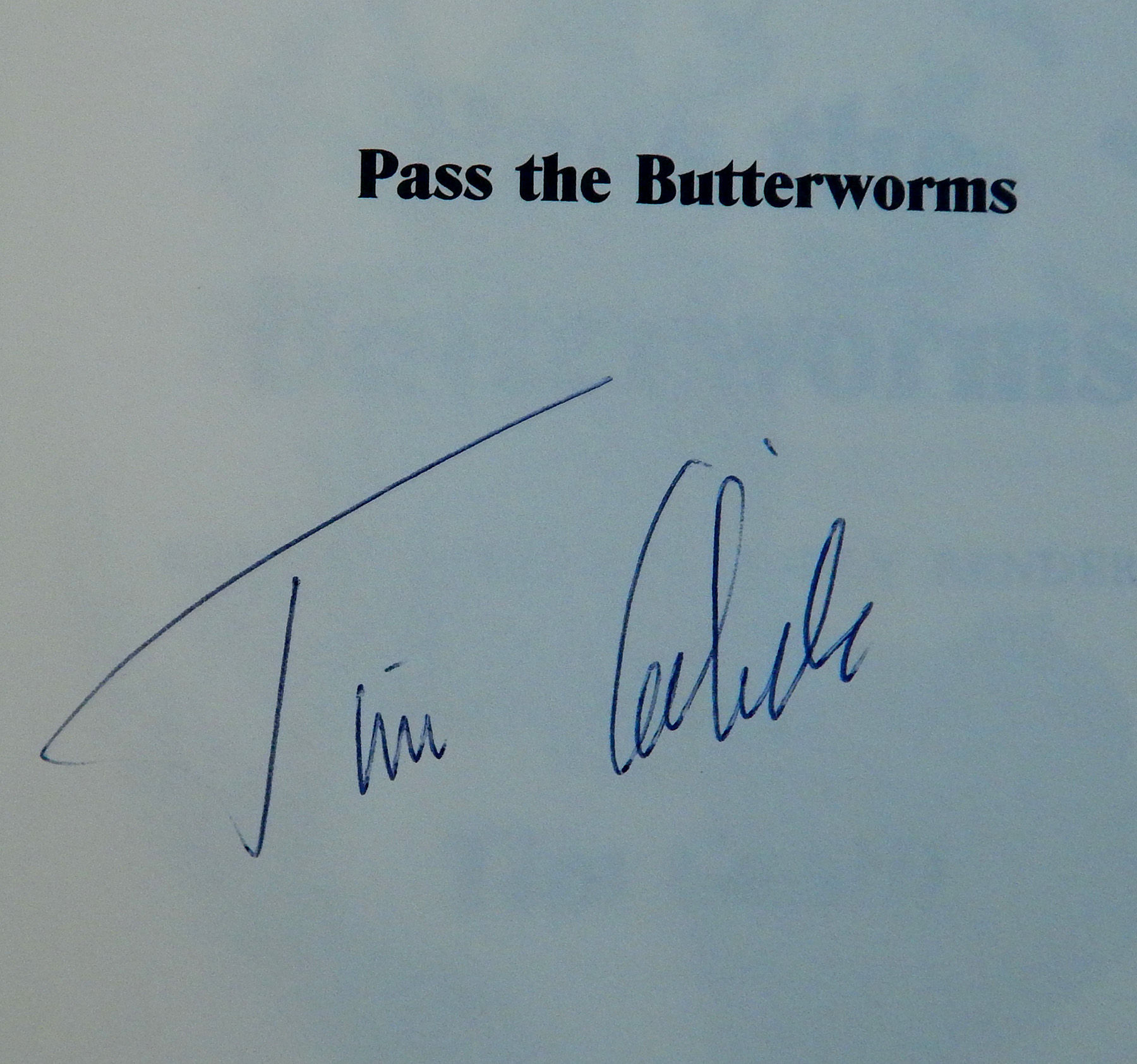 Image for Pass the Butterworms
