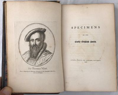 Image for Specimens of the Early English Poets.