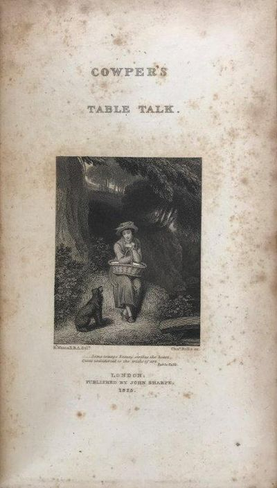 Image for Table Talk, and other poems.