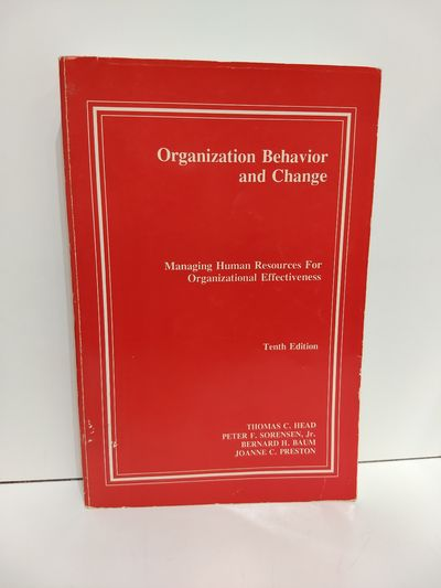 Image for Organization Behavior and Change : Managing Human Resources for Organizational Effectiveness