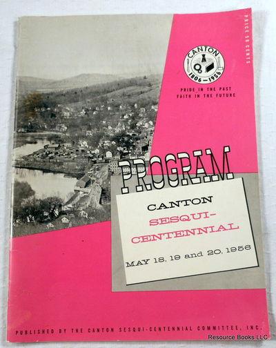 Canton Sesquicentennial 1806-1956, Canton, Connecticut