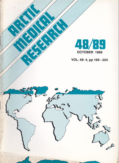ARCTIC MEDICAL  RESEARCH. Vol. 48, No. 4, October 1989., Hansen, J. P. Hart; Harvald, Bent; editors.