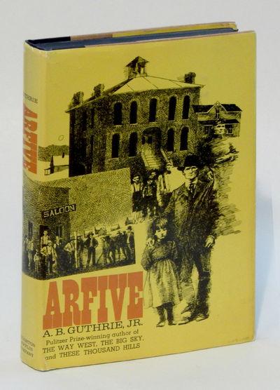 Arfive, Guthrie, A.B. Jr.