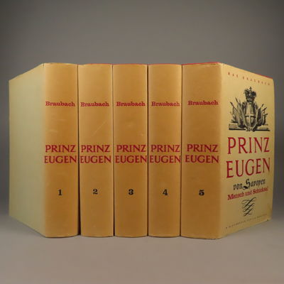 Image for Prinz Eugen von Savoyen - eine Biographie - 5 Volume set