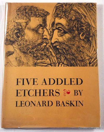 Five Addled Etchers, Baskin, Leonard