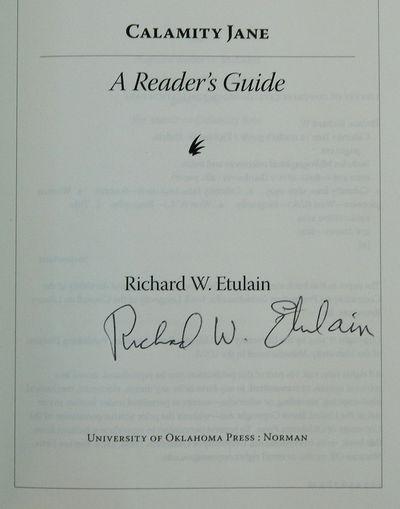 Calamity Jane: A Reader's Guide, Etulain, Richard W.