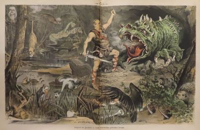 Image for Puck Magazine September 14, 1887 - September 5, 1888 German language edition.