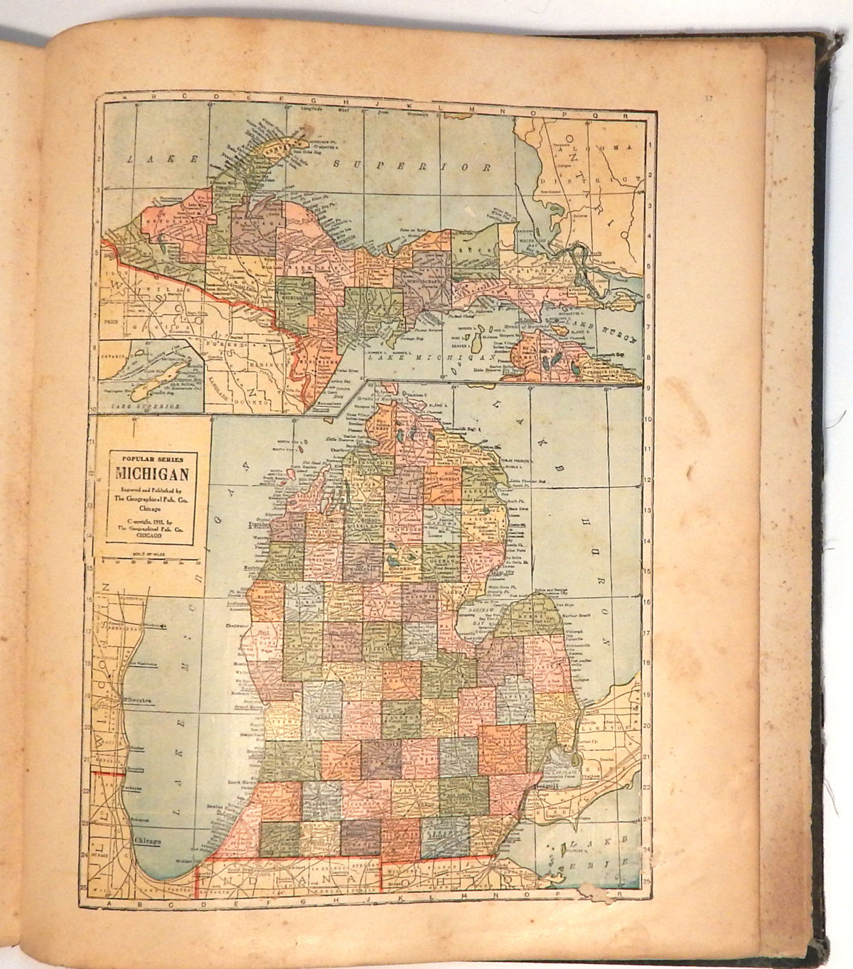Image for Atlas and Farm Directory of Isabella County Michigan: Compiled from County Records and Actual Surveys