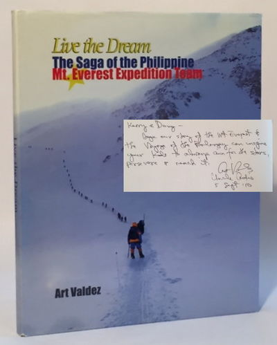 Live the Dream: The Saga of the Philippine Mt. Everest Expedition Team, Valdez, Art