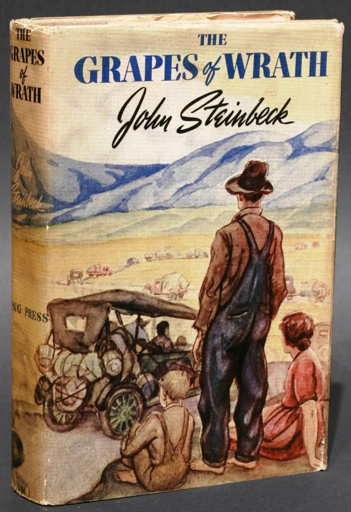 collectible copy of The Grapes of Wrath